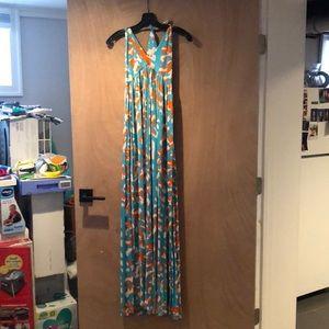 Diane Von Furstenberg Halter Maxi Dress